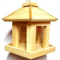 NEW GAZEBO NATIVE BIRD FEEDER
