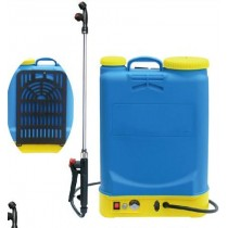 16 LITRE BACK PACK SPRAYER                                       GW122with ELECTRIC PRESSURE PUMP