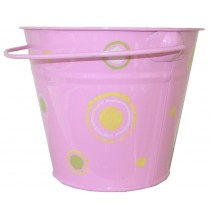 KIDS METAL BUCKET (PINK)