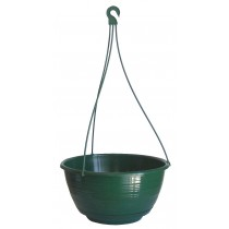 250mm GRECIAN HANGING POT WITH SAUCER GDP120