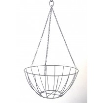 400mm STANDARD WIRE HANGING BASKET & LINER GDP434