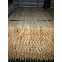 2100 x 50 x 50mm HARDWOOD STAKES  - GDS131