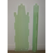 FLUTED PLASTIC VINE  GUARDS 900mm                      GDS158