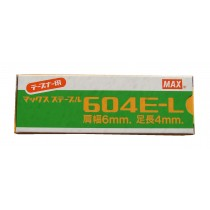 MAX 604E HEAVY DUTY STAPLES                                     GT760