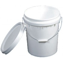 15 LITRE WHITE (FOOD GRADE) BUCKET
