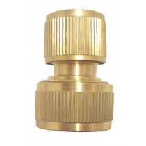 19/12mm BRASS HOSE CONNECTOR GW155