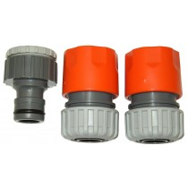 19mm MAXI FLOW PLASTIC 3 PIECE SET GW175
