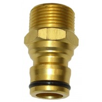 19mm MAXI FLOW BRASS TOOL ADAPTOR CLICK ON GW186