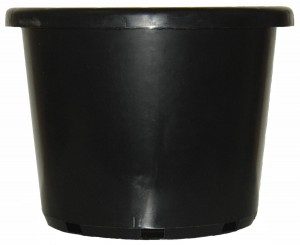 500mm STD BLACK POT GDP110